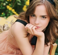 emma watson as school girl