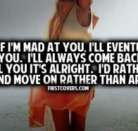 even if im mad cover