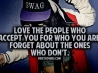 forget the ones who dont cover