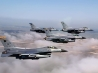 formation of f 16 fighting falcons wallpapers