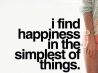 happiness in the simplest things cover