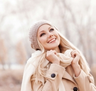 Happy Laughing Young Blond Women Wallpapers