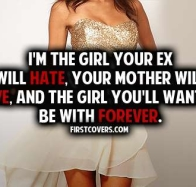 im the girl quote cover