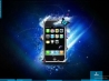 iphone 3g blue fantasy wallpapers