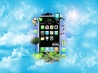iphone in jungle sky wallpapers