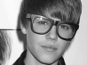 justin bieber with glasses