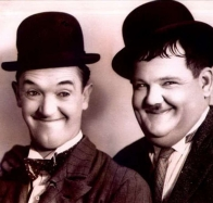 laurel and hardy wallpaper