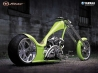 motorcycle green nice classic modern yamaha japon wallpaper