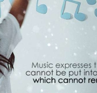 music expresses cover