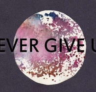 never give up cover