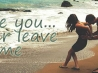 never leave me cover