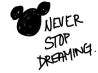 never stop dreaming cover