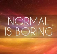 normal is boring cover