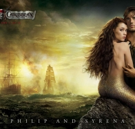 philip and syrena in pirates 4 wallpapers