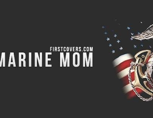 proud marine mom cover