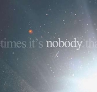 sometimes its nobody cover