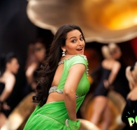 Sonakshi Sinha In Green Saree