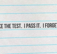 study pass forget cover