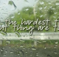 the hardest thing cover