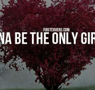 the only girl you love cover